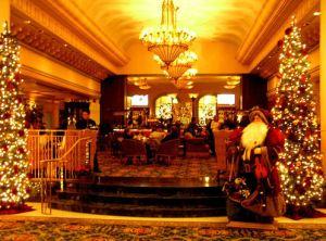 市中心大酒店充滿佳節情懷