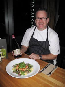 Iron Chef Rob Feenie is also a wine expert