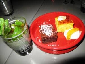Dessert & Mint Tea