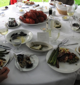 A lobster feast at Hart House