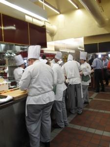 #4 Future chefs preparing breakfast